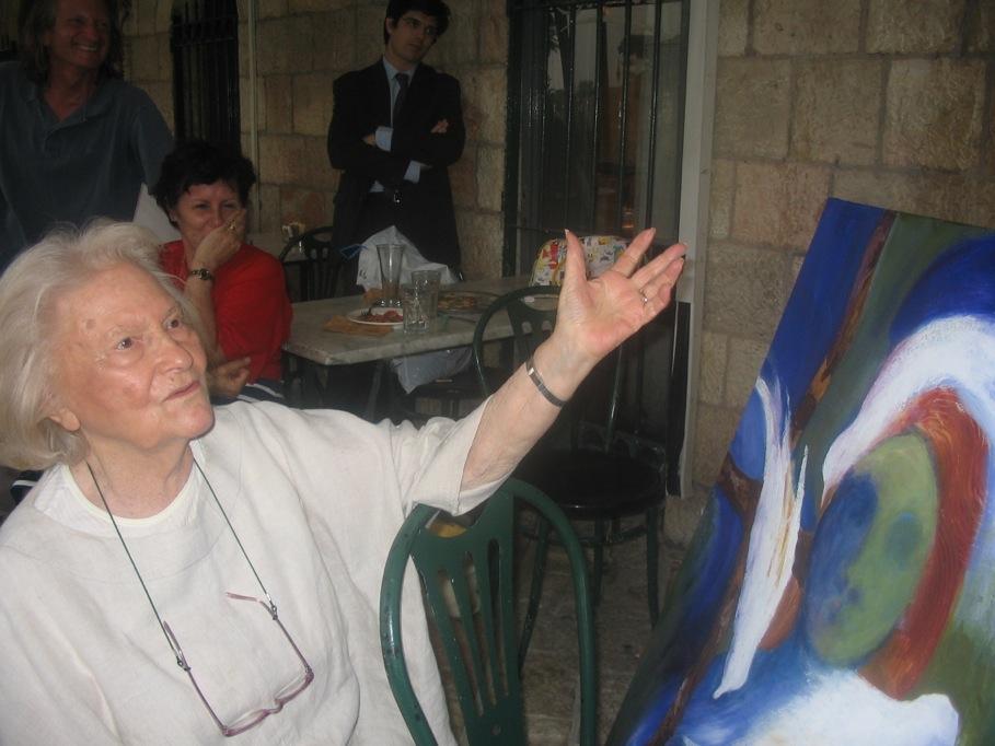 Lia Van Leer, directrice de la cinémathèque de Jérusalem